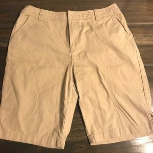 White Stag Women's Khaki Bermuda Shorts